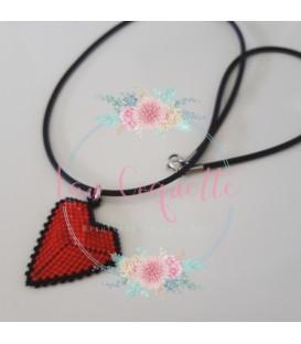 Gargantilla Corazón Miyuki