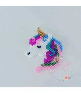 Broche Unicornio Miyuki