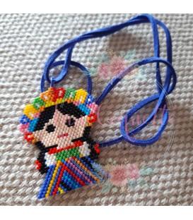 """Collar Muñeca Mexicana María """"Lele"""""""